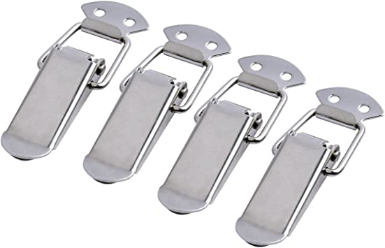 4pcs Iron Spring Loaded Toggle Latch Catch Clamp 90mm