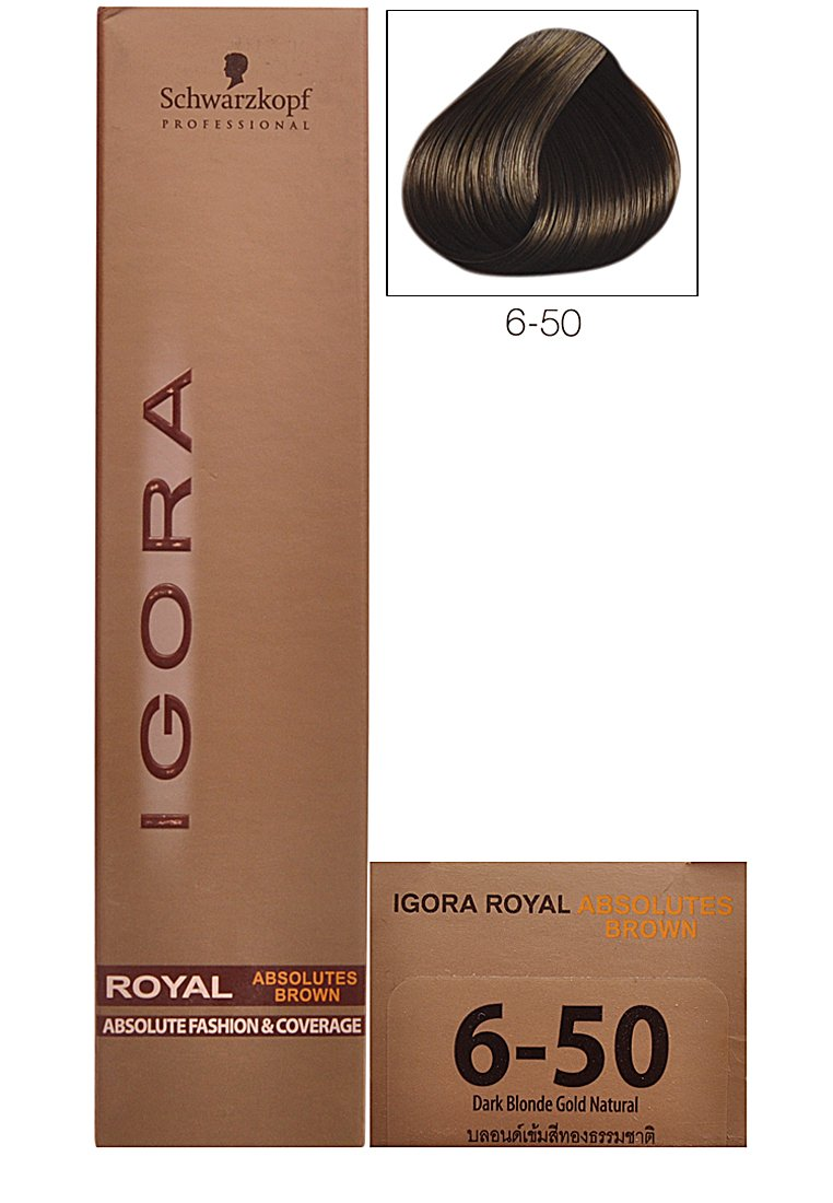 Buy schwarzkopf igora royal absolute brown hair colour 6 50 dark buy schwarzkopf igora royal absolute brown hair colour 6 50 dark blonde gold natural 60ml online at low prices in india amazon nvjuhfo Image collections