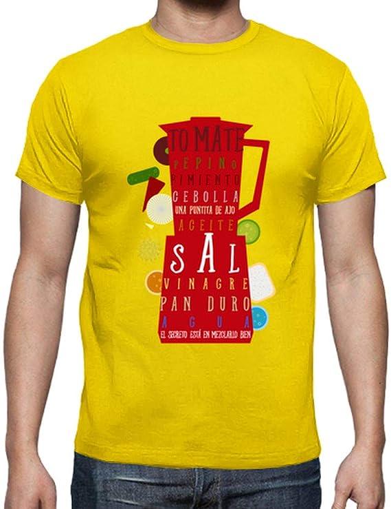 latostadora - Camiseta Gazpacho Almodovar para Hombre: dimasfernandez: Amazon.es: Ropa y accesorios