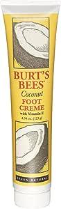 Burt's Bees Coconut Foot Creme, 123 Grams