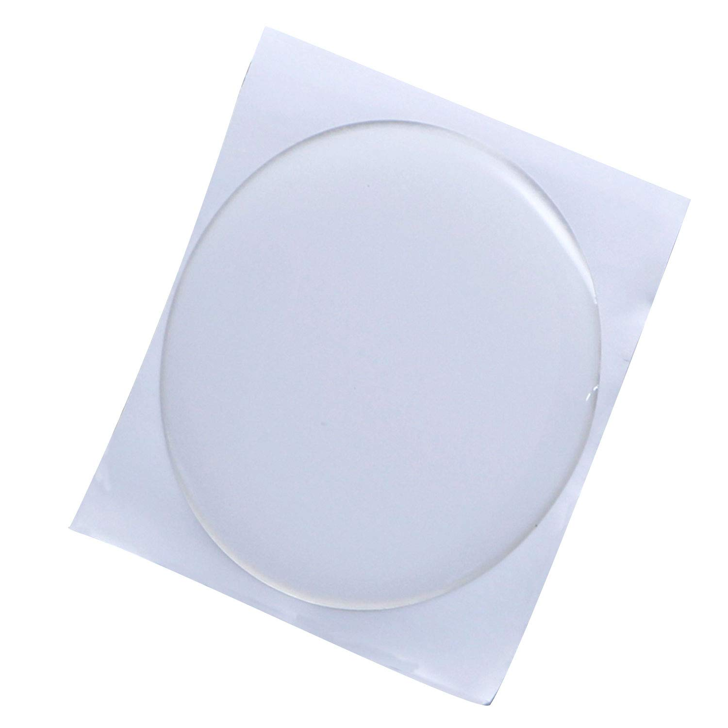 IGOGO 2 Inch Round Epoxy Sticker for Bottle Cap Pendants - (50.8mm) Clear Color,50 PCS