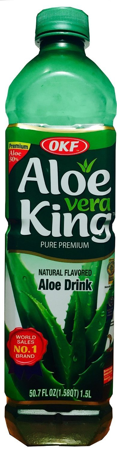 Amazon.com : OKF Pineapple Aloe Drink, 16.9 Ounce (Pack of 3) : Grocery & Gourmet Food