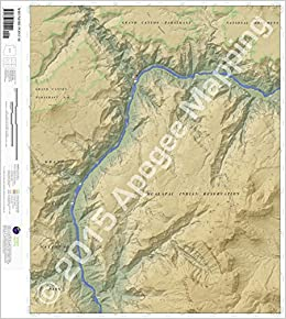 Whitmore Point SE, Arizona 7.5 Minute Topographic Map   Waterproof