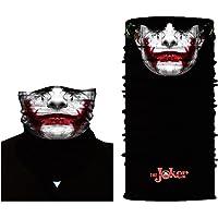 ShopINess Cache-Cou/Foulard Multifonctions - Joker