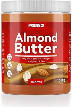 Prozis Almond Butter 1kg - Delicioso y de Textura Suave - Fuente Natural de Proteína - Apta para Dietas Veganas, Kosher y Halal - Baja en Sal, ...