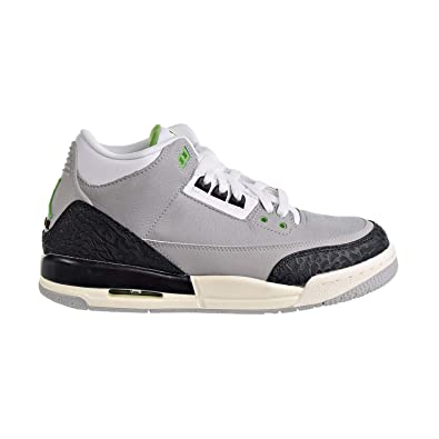 82a88dc00320e Amazon.com | Nike Air Jordan 3 Retro Chlorophyll (GS) Kids 398614 ...