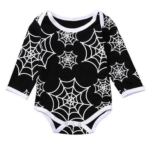 f113bb6d9 Amazon.com  Halloween Newborn Baby Boys Girls Jumpsuit Clothes