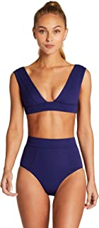 product image for Vitamin A Women's BioSculpt Enya Banded Bralette Bikini Top