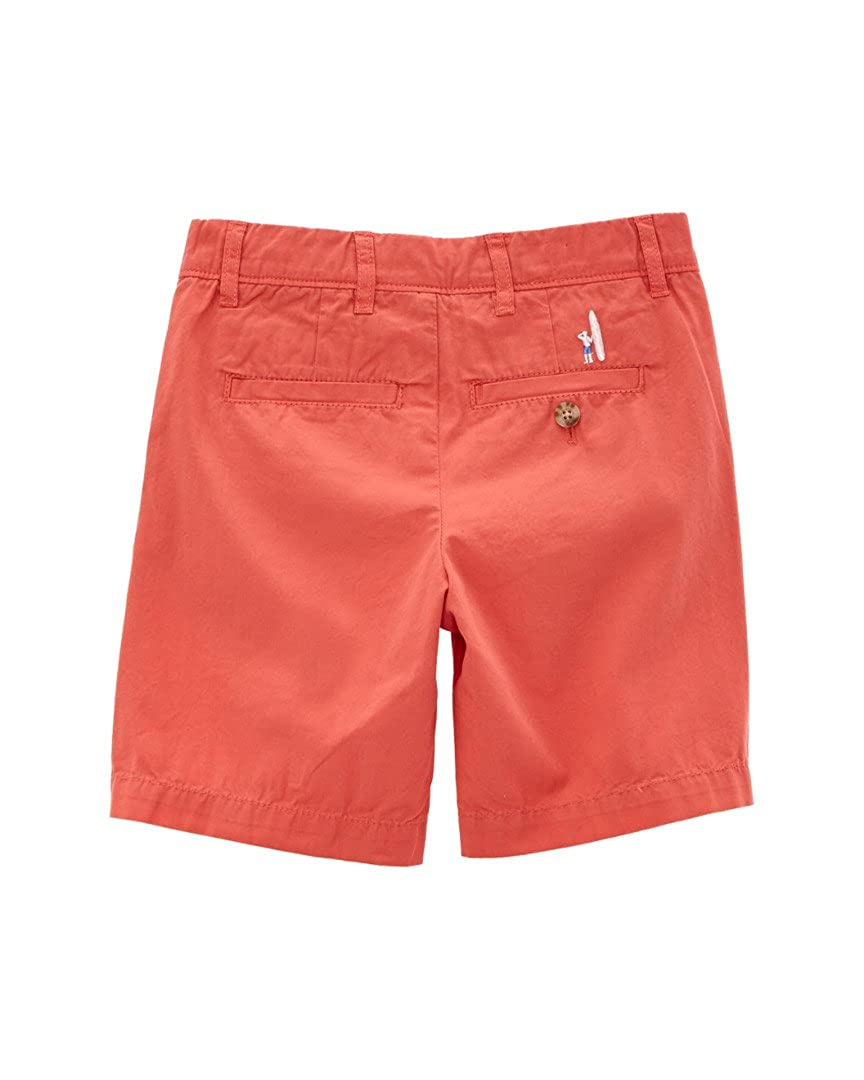 Boys Melon Red Shorts johnnie-O Derby Jr