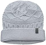 Marc New York Women's Austin Multi Cable Beanie with Cuff, Stone, One Size