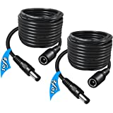 SIOCEN 5.5mm x 2.1mm Extension Cord,DC 12v Power Supply Adapter for CCTV Security Camera Surveillance Indoor Wireless IP Came