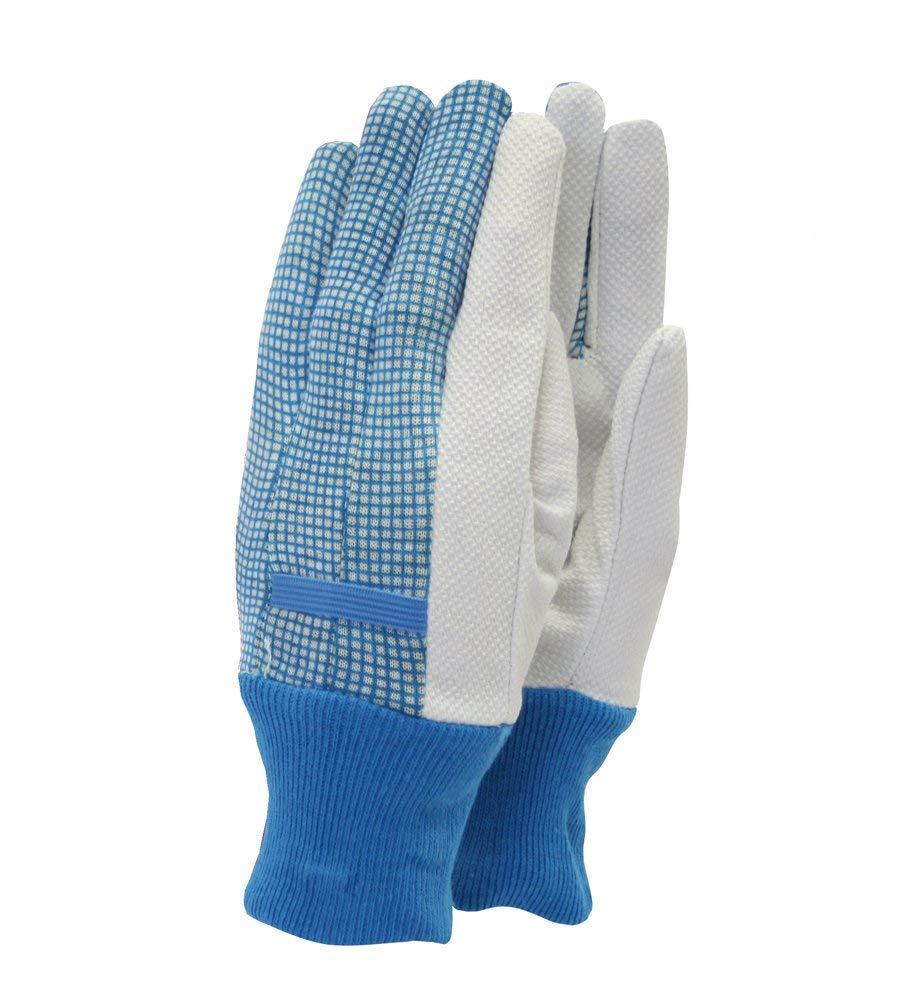 Town /& Country TGL201 Original Cotton Grip Ladies Gloves Blue or Aubergine