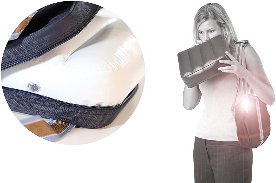 roba Si/ège gonflable portable pour enfant Sert de rehausseur de si/ège Commode en voyage