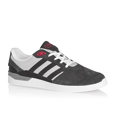 adidas Originals Men's Zx Vulc Dgsogr/Lgsogr/Scarle Leather Sneakers - 7 UK/