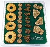 3 Silicone Non Stick Sheets fits Ivation & Gourmia Dehydrator 6-Tray fruit roll up crackers Teflon-Free