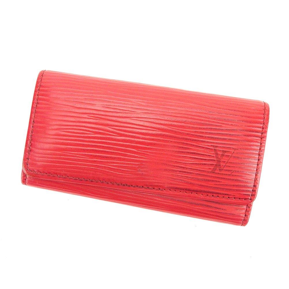 (ルイ ヴィトン) Louis Vuitton キーケース 4連キーケース レッド ゴールド ミュルティクレ4 エピ メンズ可 中古 T6288   B079S5P44B