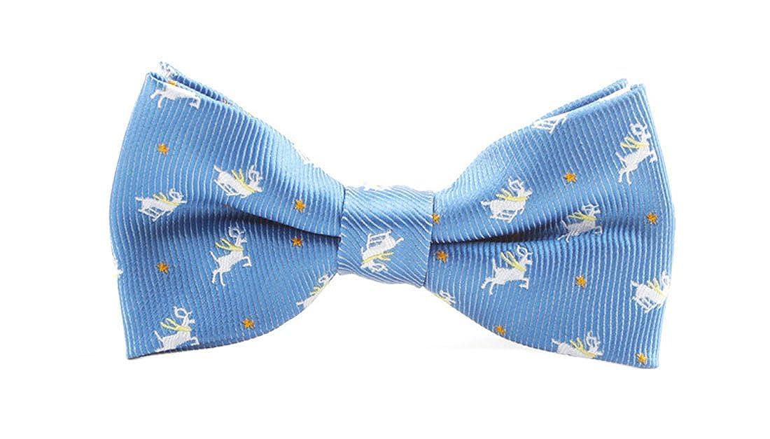 YueLian Kinder Baby Niedlich Fliege Cartoon Davidshirsch Kinderfliege Schlips Schleife Krawatte