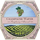Champagne Wafer, Raspberry Almond, 7-Ounce Box (Pack of 3)