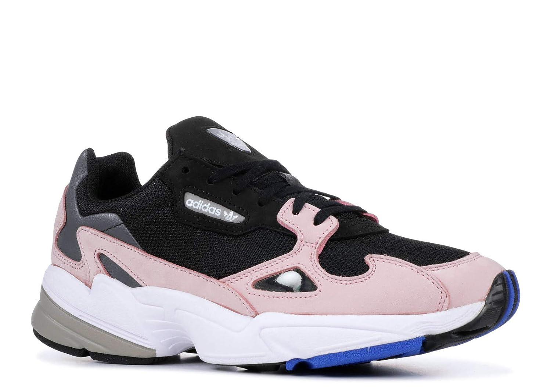 Black   Black-pink Adidas Women's Falcon Originals Casual shoes