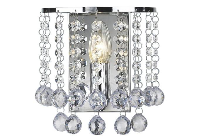 Palazzo Acrylic Crystal Wall Light