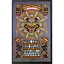 Bob Dylan - Phil Lesh and Friends - Live at Portland Meadows - Tour Advertising Poster