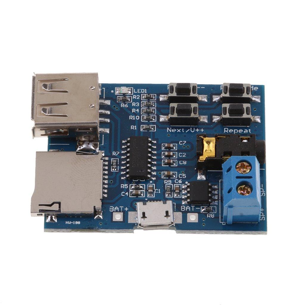 MagiDeal Decoder Mp3 Lossless Decodifica Amplificatore di Potenza Modulo Audio Lettore Mp3