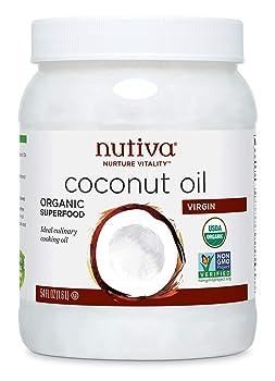 Nutiva Organic Unrefined Virgin 54-oz Coconut Oil