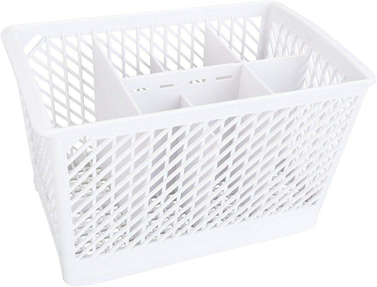 (RB) 99001576 Dishwasher Silverware Basket White for Maytag