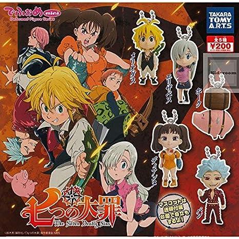 Amazon.com: Los siete pecados nanatsu no taizai Swing Mascot ...