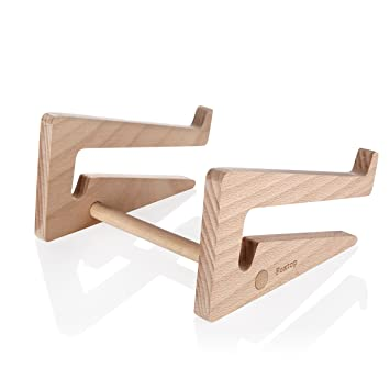 foxtop foldable solid beech wood laptop stand vertical dock assembled folding wooden stand for macbook acer friends wooden classic