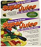 Super Juice Vegetable and Fruit Daily Multi Phyto-Nutrient Formula, 60 Count