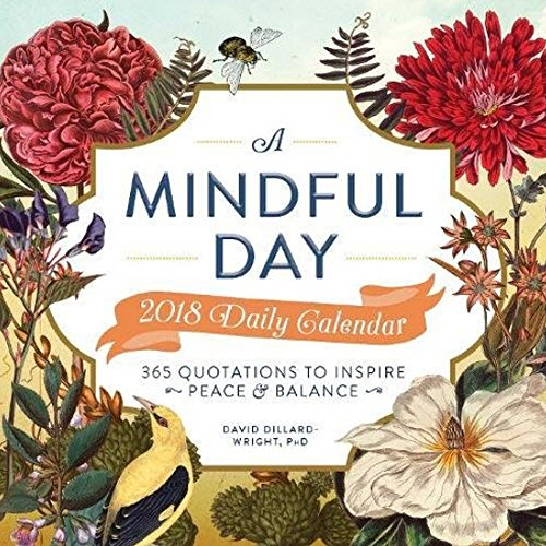 A Mindful Day 2018 Daily Diary: 365 Quotes to Inspire Positive Energy