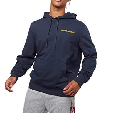 A NEW ERA Sudadera Capucha NBA Cleveland Cavaliers Team Apparel Po Azul XS (X-