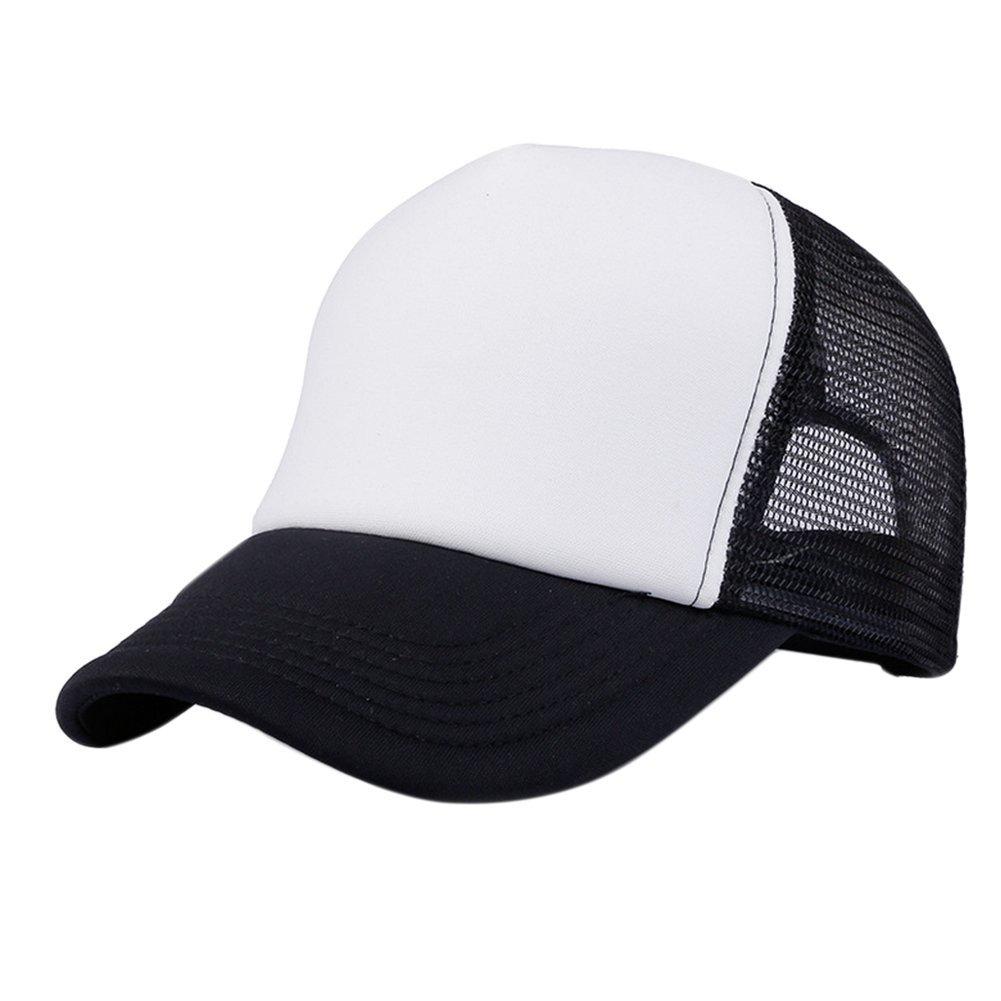 DaoRier 1pc Sombrero de Varios Colores de Viaje Sombrero de Hombre Gorro Cl/ásico Sombrero al aire libre Gorras de B/éisbol Ajustables Unisex