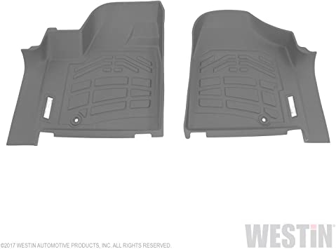 Set of 1 Westin 72-113028 Black Sure-Fit 2nd Row Molded Floor Mat