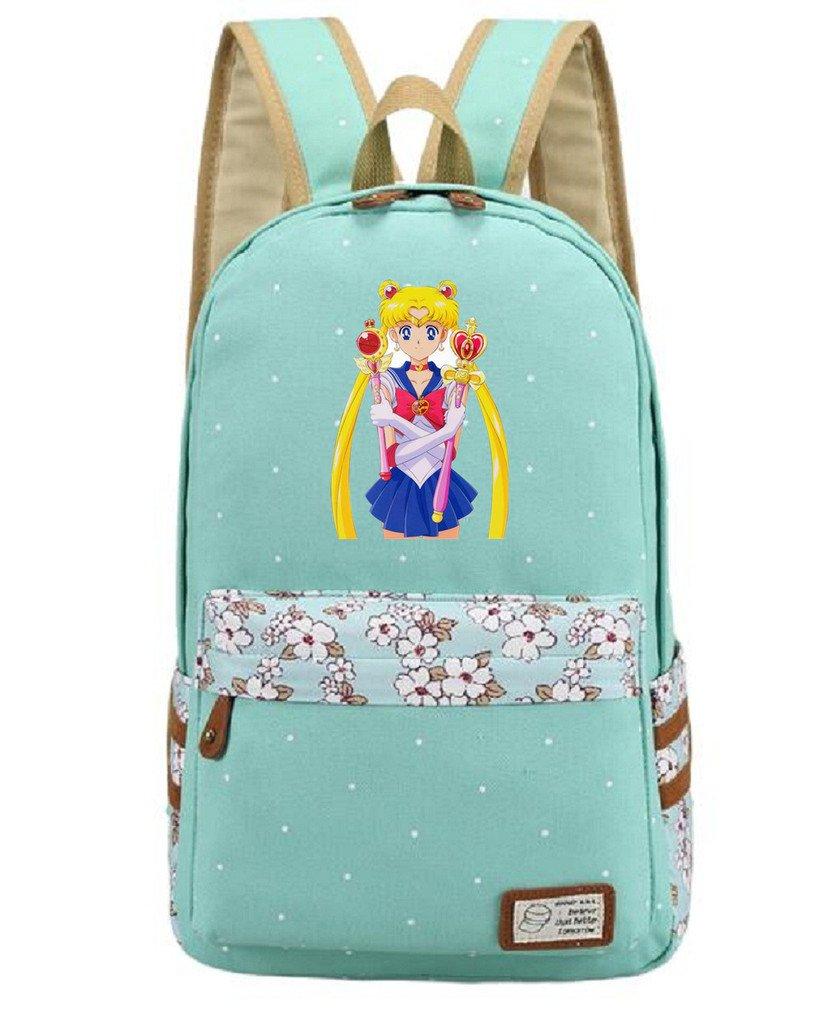 017b3b2c0eb1 YOYOSHome Anime Sailor Moon Cosplay Daypack Bookbag Backpack School ...