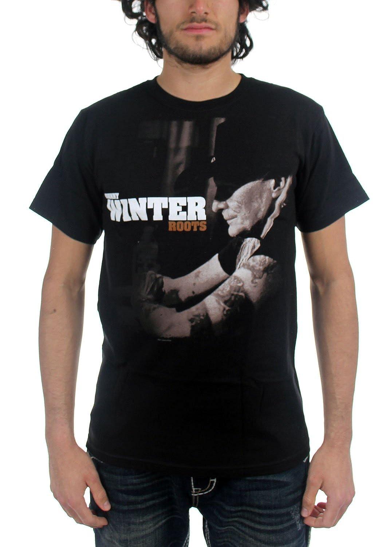 Winter, Johnny - Mens Roots T-Shirt