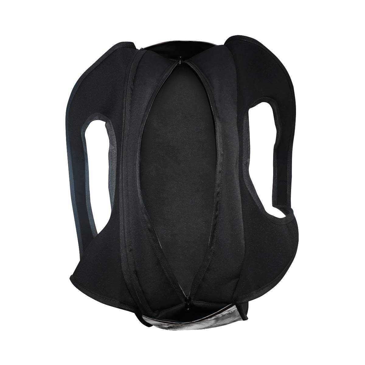 3D Swimming Cat Women Sports Gym Totes Bag Multi-Function Nylon Travel Shoulder Bag