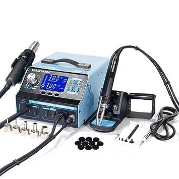 Italtronik YIHUA 992DA - Estación de soldadura y desoldadura profesional, aire caliente: Amazon.es: Bricolaje y herramientas