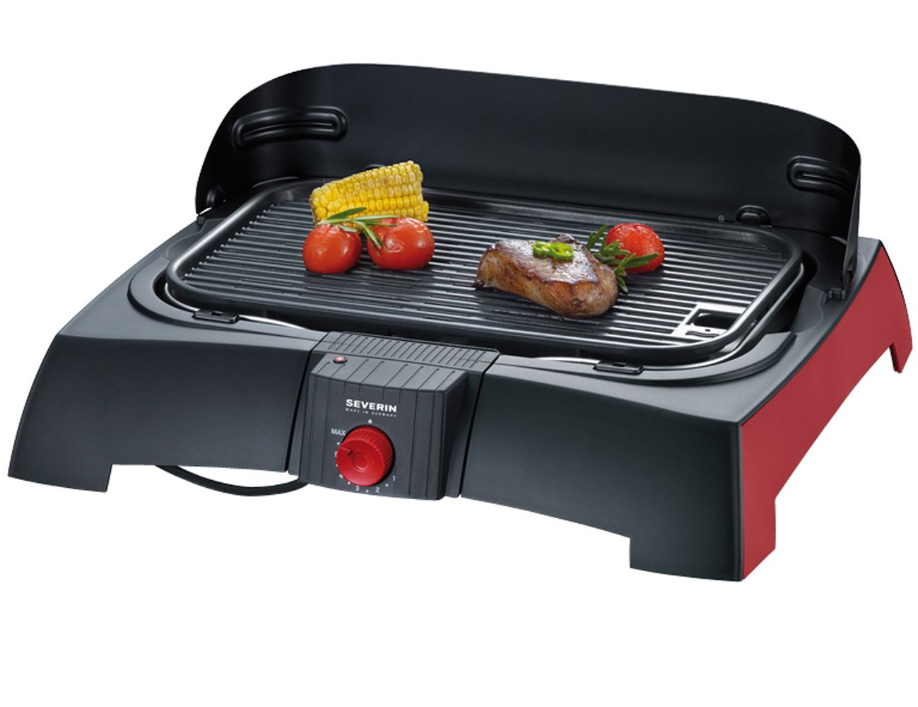 Severin Elektrogrill Defekt : Amazon severin pg barbecue grill schwarz rot