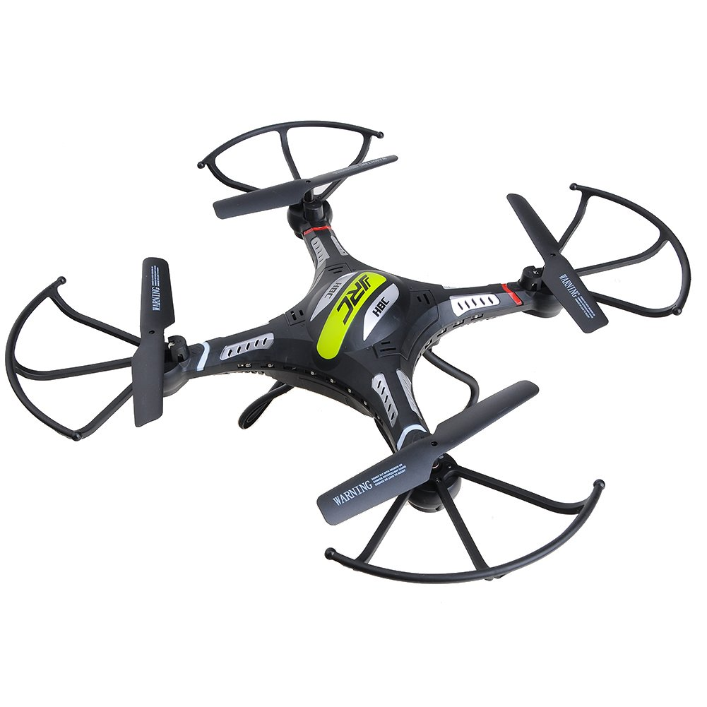 H8C Quadrocopter RC Drohne 2.4G 6 Achsen RC Helikopter ferngesteuertes Spielzeug (Schwarz)