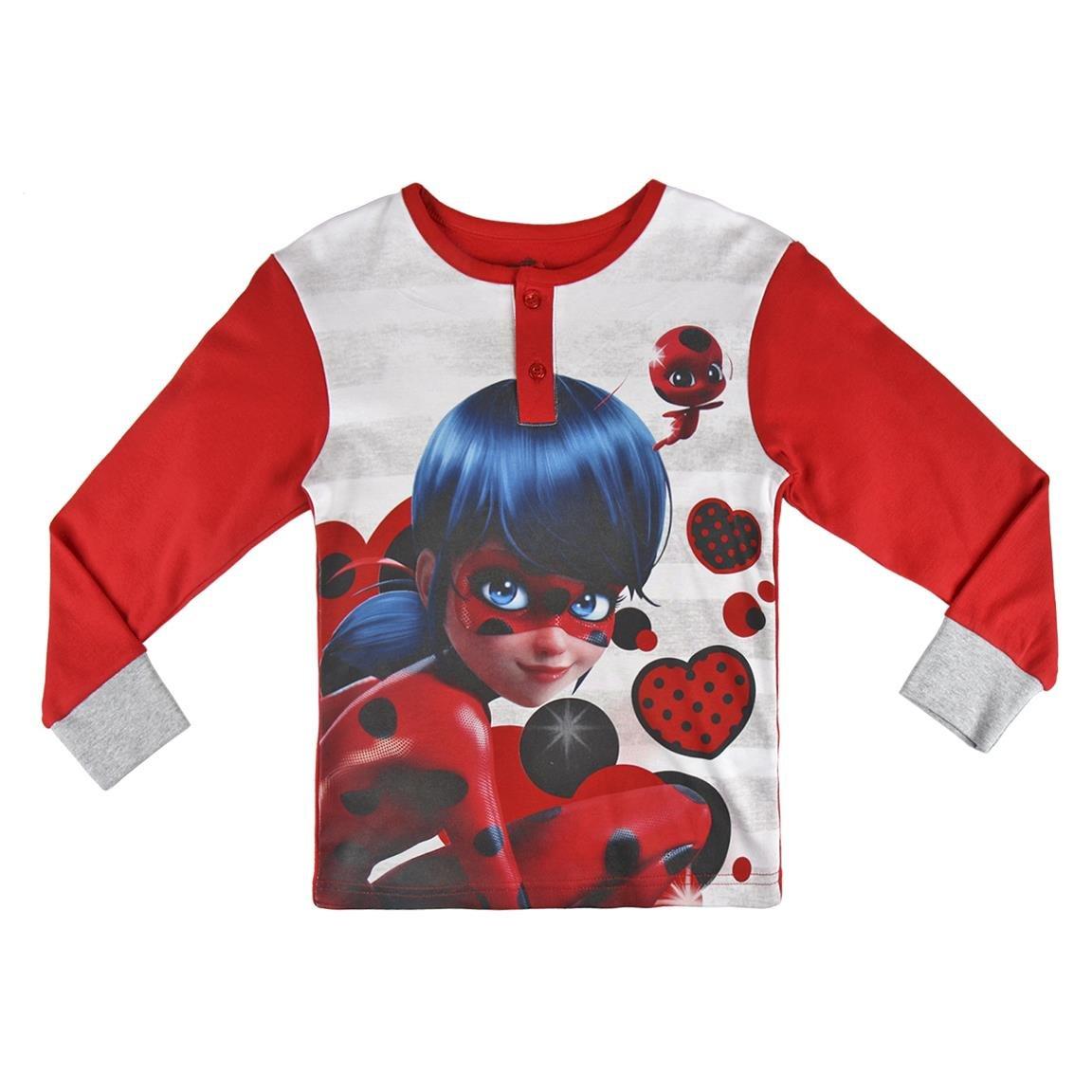 Ladybug - pijama manga larga 2 piezas interlock 100% algodón (98cm-104cm): Amazon.es: Ropa y accesorios