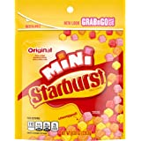 STARBURST Original Minis Fruit Chews Candy, 8-Ounce Grab N Go Size Resealable Bag (Pack of 8)