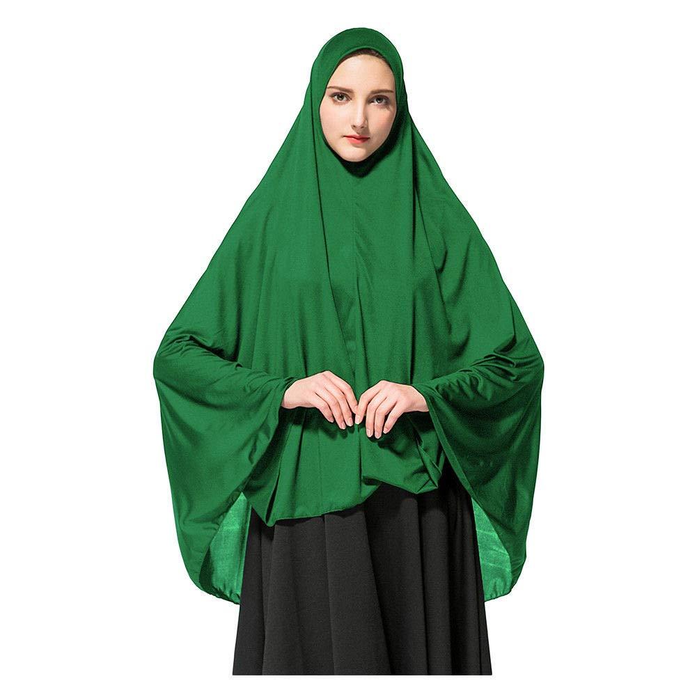 Chapeaux Islamiques Bonnet Turquie Foulard dArab Couleur Unie Pri/ère /Élasticit/é Long Ch/âle Hzjundasi Femme Musulmane Hijab Islamique Foulard Voil/ées