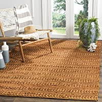Safavieh Natural Fiber Collection NF212E Hand-Woven Gold Jute Area Rug (3 x 5)