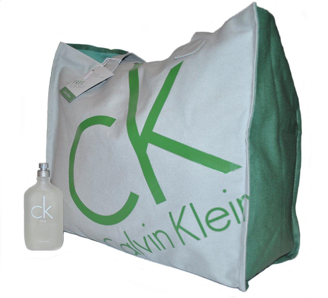Amazon.com : Calvin Klein CK One 100ml & Cosmetic Bag : Eau De Toilettes : Beauty