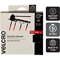 "VELCRO Brand - Industrial Strength - 2"" x 10' - Black"