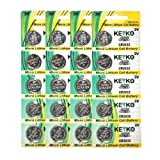 2032 Battery CR2032 3V Lithium Coin Cell Battery Type : CR2032 / DL2032 / ECR2032 Genuine KEYKO ® Supreme High Energy™ - 20 pcs Pack