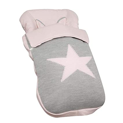 Babyline Snow - Saco de silla, unisex, color rosa