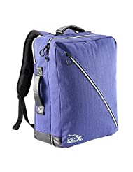 Cabin Max Oxford 50x40x20cm Carry on Luggage - Backpack (Blue)